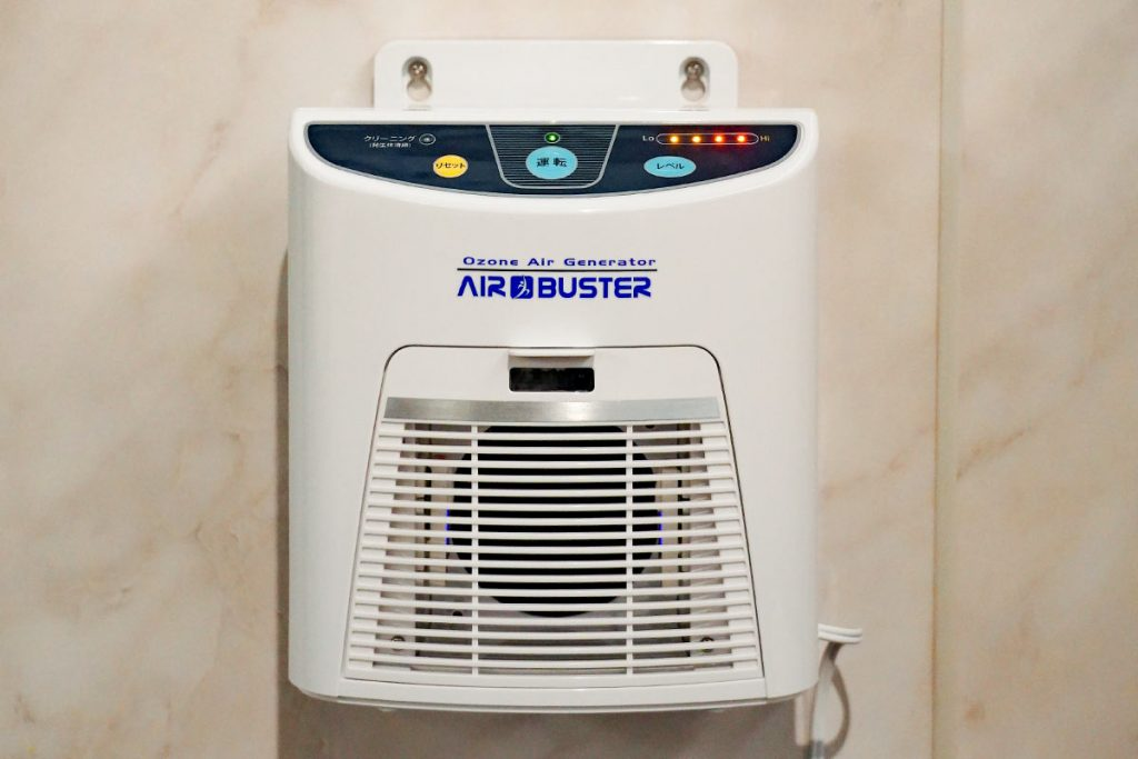 ソープランド トゥルースグループ 新型コロナウイルス感染症対策 オゾン発生器 エアバスター